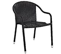 Crosley Palm Harbor Outdoor Wicker Stackable Chairs
