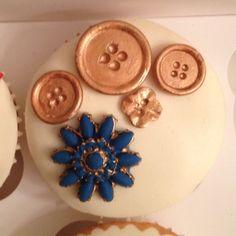 Jubilee jewel cupcakes