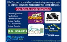 Retail Franchises are excellent franchises to invest for the future, ask a franchise consultant about the details get started on your goal setting.   Franchise Opportunities Franchise direct Franchise Consultants Business franchise Low Cost Franchises Business consulting   call Kirk at (214) 396-4396 for more details or visit www.franchisesearchgroup.com