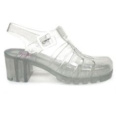 efa3c93ffcd8 JuJu Babe 80s Jelly Sandals at Mr Shoes UK ( 32) ❤ liked on Polyvore