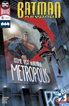 1st Print Martin Ansin Variant Cover Vol DC Batman Beyond 6 # 8