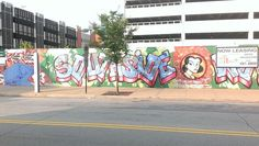 South side of Pittsburgh street art