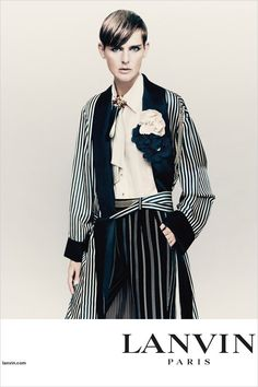 Stella Tennant Stars in Lanvin Spring Summer 2017 Campaign - photographer Paolo Roversi.