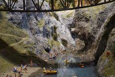 Das Berner Oberland in Spur H0 bei Smilestones. Loki, Spur, Mount Rushmore, Mountains, Nature, Painting, Travel, Viajes, Painting Art