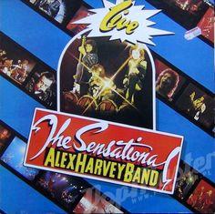The Sensational Alex Harvey Band Live FA3161 http://popmaster.pl/