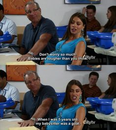 Modern Family. Favorite TV series and one of my favorite episodes.