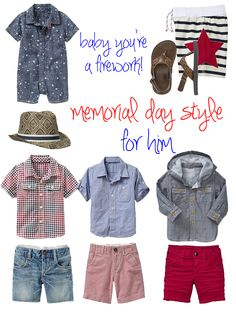 memorial day style for baby boy