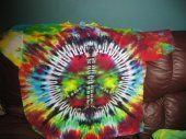 Peace Sign Tie Dye Shirt