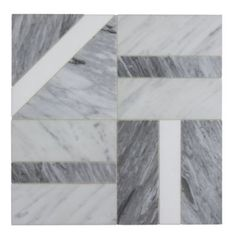 Liaison by Kelly Wearstler offers boldly distinctive stone designs. Many patterns are in-stock & available in marbles such as Calacatta, Thassos, and Carrara. Stone Mosaic, Stone Tiles, Floor Patterns, Tile Patterns, Ceramic Floor Tiles, Tile Floor, Marble Floor, Wood Floor Texture, Powder Room Design