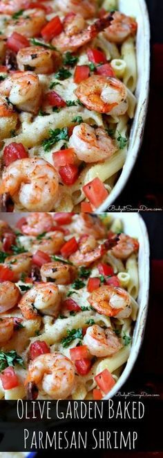 1/2 lb Shrimp, jumbo. 1 Parsley, fresh. 1 Roma tomato. 1 lb Penne pasta. 2 tbsp Bread crumbs. 1/4 cup Butter. 4 oz Butter. 1 pint Heavy cream. 1 cup Parmesan cheese.