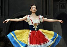 Natalia Osipova in 'Coppelia'. Her sass level in this ballet is through the roof.