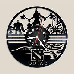 Dota Vinyl clock, Dota home decor, Dota art, Dota poster,...