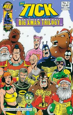 ComicsAlliance collects 200 comic book covers celebrating the holiday season.