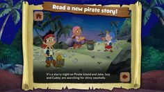 Disney has been reinventing some of the characters from Peter Pan recently in its Jake and the Never Land Pirates cartoon. Now there's an app for them.