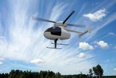 Sagita Sherpa hot air-powered helicopter