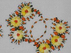 vasny artes e bordados: panos com bordado em rococo