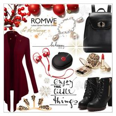 """Romwe 8."" by selmagorath ❤ liked on Polyvore featuring moda, Dolce&Gabbana, Amorium e Beats by Dr. Dre"