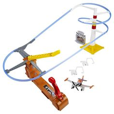 Disney Planes Action Shifters Flight to the Finish Speedway Track Set $24.99  #BestRevews
