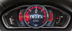 Car Dashboard UI Collection — Instrument cluster by Volvo, 2014