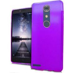 ZTE Zmax Pro Carry Z981 Silicone Case - TPU Purple 1