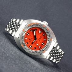 "1960's – 1970's DOXA [Swiss] Sub 300 T ""Professional"" Diver Watch ETA Cal. 2783  PROFESSIONALLY INSPECTED IN-HOUSE AT THE LOCALTIME SPA"