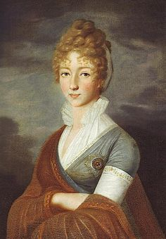 1800 Empress Elizabeth Alexeievna wearing a grey dress lunarmaiden10 on Webshots