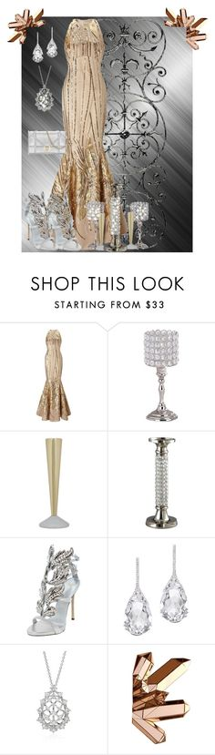 """""""Sparkle No Matter What!"""" by watson271 ❤ liked on Polyvore featuring Ariella, Leeber Limited, Tom Dixon, Giuseppe Zanotti and Plukka"""