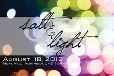 salt and light august 18!