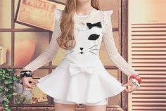 Vestido de gato!! ♥.♥