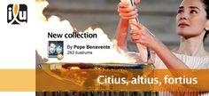 Citius, altius, fortius  Por Pepe Benavente    #JuegosOlímpicos #OlympicGames