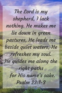 God gives us peace and rest because He is our Shepherd. Like if you agree! #christianity #christian #bible #quotes #quotestoliveby #quotesaboutlife #quoteoftheday #quotestagram #quote #quotesdaily #inspirationalquotes #inspiration #inspire #inspirational #inspired #wisdom #bibleverse #scripture #motivationalquotes #motivation #motivational #motivationalquote
