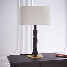 Elegant Mid Century Bedside Lamp