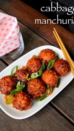 Manchurian Recipe Vegetarian, Vegetarian Masala, Vegetarian Snacks, Puri Recipes, Spicy Recipes, Vegetable Recipes, Indian Food Recipes, Cooking Recipes, Cabbage Recipes Indian