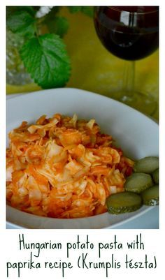 Budget-friendly, super simple and delicious. It is also called 'grenadir mars'. It is a no meat Hungarian main dish, even vegans can have it if you use no egg pasta. Click for the recipe.