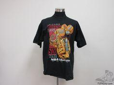 Vtg 90s Pro Player Chicago Bulls Finals Champions T shirt sz XL Extra Large NBA #ProPlayer #ChicagoBulls #tcpkickz