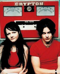 Meg & Jack White  -  The White Stripes