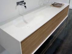 Meuble pour salle de bain composable Collection Planeta by Antonio Lupi Design® Sink Design, Bath Design, Wall Faucet, Toilet Sink, Bathroom Cabinetry, Bad Inspiration, Shower Niche, Floating Vanity, White Vanity