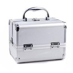 Cisno Aluminum Makeup Train Case Professional Makeup Kit (Silver) CISNO http://www.amazon.com/dp/B00LGAKZMQ/ref=cm_sw_r_pi_dp_eBNVub18ANWAF