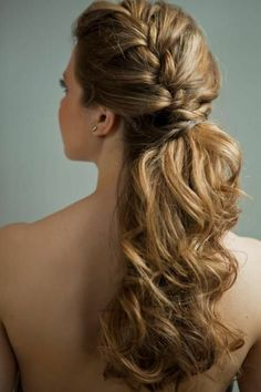 20 stunning wedding hairstyles ideas – My hair and beauty Bridesmaid Hair, Prom Hair, Bride Hairstyles, Cute Hairstyles, Latest Hairstyles, Hair Dos, My Hair, Curly Hair Styles, Natural Hair Styles