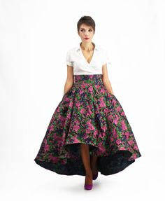 Maxi Skirt Prom Skirt Circle Skirt High Waisted Skirt от FatBerry