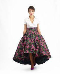 Maxi Skirt Prom Skirt Circle Skirt High Waisted Skirt от FatBerry