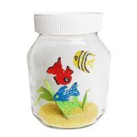 Fabrication d'un aquarium et ses petits poissons - Bricolage matériau recyclé -Tête à modeler