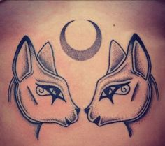 bastet and sekhmet tattoo yahoo image search results my tattoo ideas pinterest search. Black Bedroom Furniture Sets. Home Design Ideas
