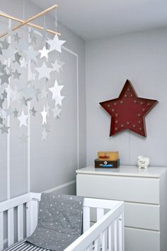 star nursery Chambre Bébé décoration Nursery garçon fille baby bedroom boys girls enfant diy home made fait maison