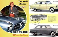 A car that literally has my name of it! #Borgward #Isabella
