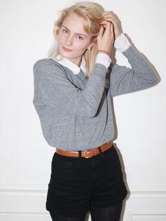 Tri-Blend Light Weight Raglan Pullover | Shop American Apparel
