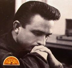 Mens Hairstyles: Johnny Cash