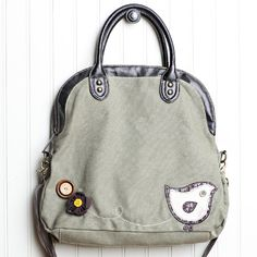 viridian feather indie fold-over crossbody bag