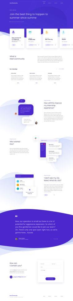 Web Design on Inspirationde Website Layout, Web Layout, Layout Design, Ui Design, Website Ideas, Clean Design, Design Sites, Web Design Trends, Minimal Web Design