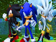 Sonic. Shadow & Silver His World.